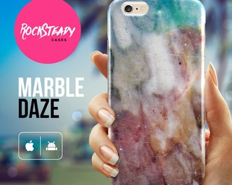 Marble iPhone 6s Plus case, iPhone 7, 5s Case, 5C cover,  samsung galaxy s7, s6, s5 unique case, marble effect gift UK