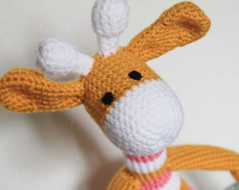 Made-to-Order Crocheted Giraffe