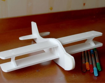Airplane Biplane, Set of 10, Ten Biplanes, Perfect entertainment for your party