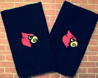 University of Louisville dish towel set--price includes shipping!