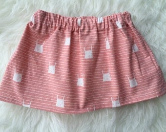 SALE *****Pink Bunny Skirt
