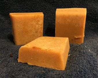 Half bars of handmade soap, your choice