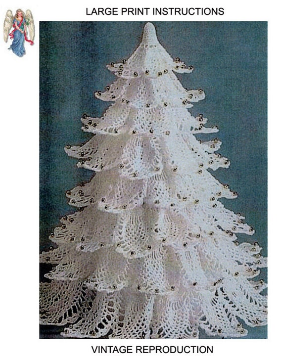 Pdf White Pineapple Christmas Tree Crochet By Apatternangel