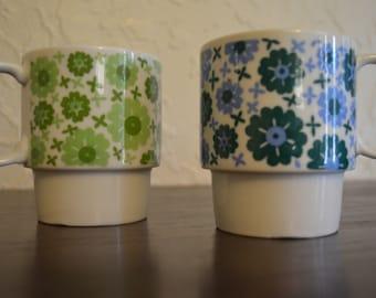 Stacking Mugs from Japan - Set of 2