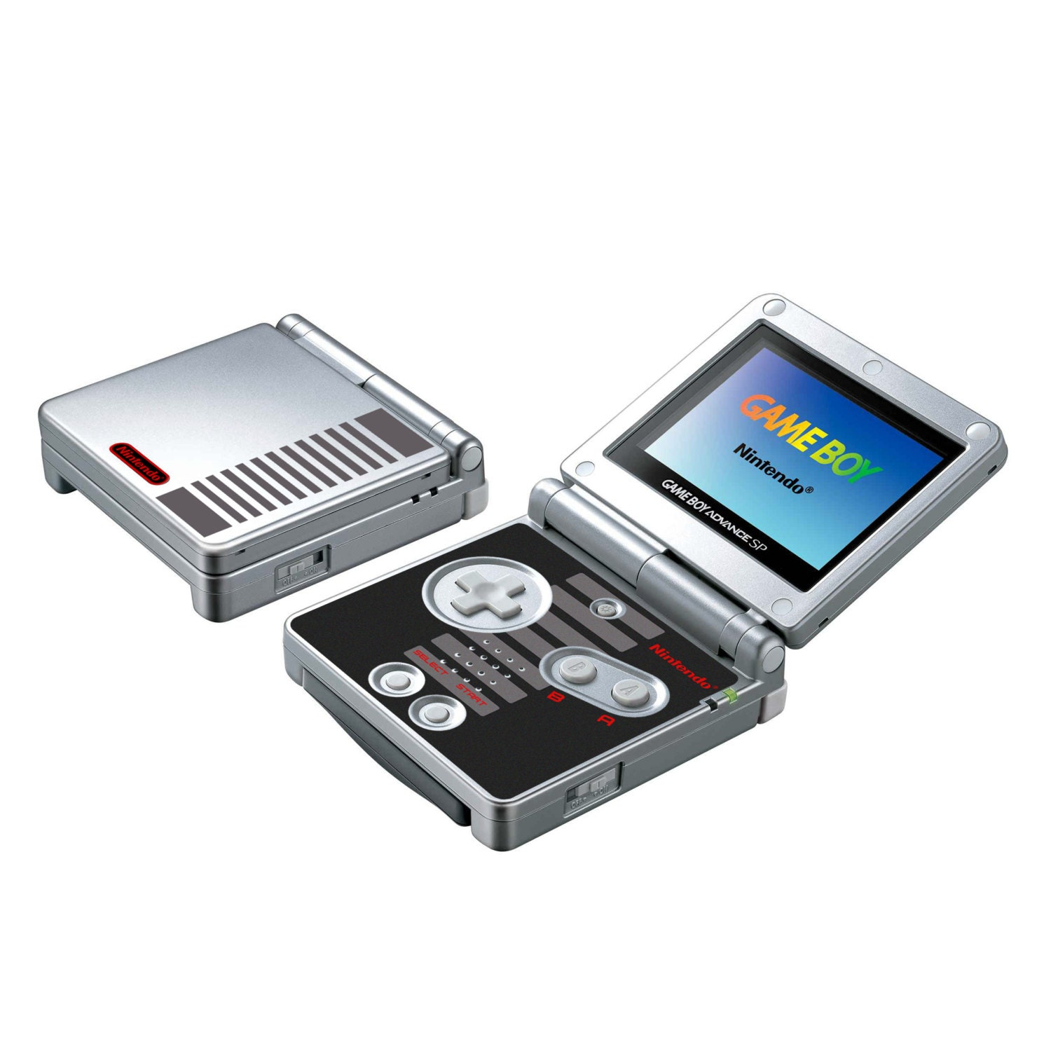 how to build a gameboy advance sp
