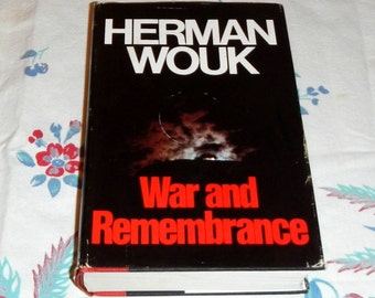 War and Remembrance by Herman Wouk 1978 Fourth Printing Vintage Hardcover Book
