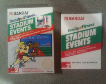 Stadium Events box and manual