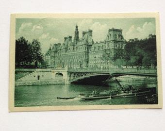 Map postal former of the Hôtel de ville de Paris