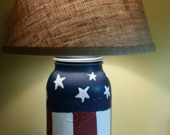 Patriotic Lamps Etsy