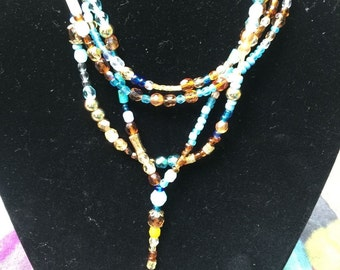 Beads beads beads. Fun and sparkly necklace
