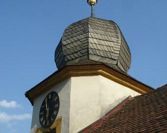 Roof sky, original photography: 20 x 30 cm