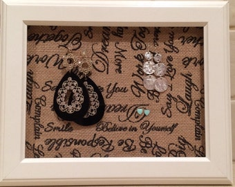 Earring Jewellery Accessories Organiser Holder Display