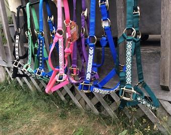 Custom Beaded Horse Halter