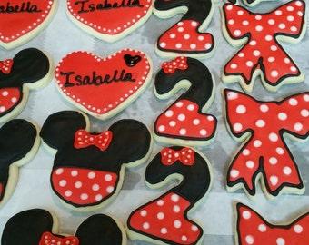 Minnie Cookies 1 dozen