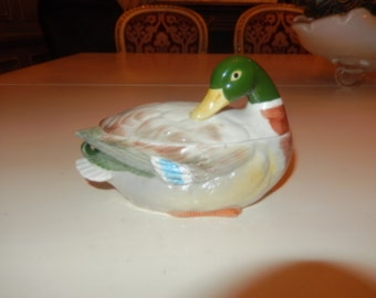 JAPAN OTAGIRI DUCK Serving Dish with Lid