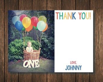 First Birthday Thank You - Digital Copy
