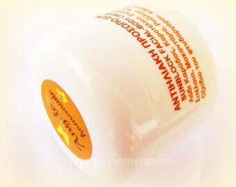 Organic Sunblock, Natural Sunscreen, Facial and Body Sunblock, UVA, UVB, Non nano Zinc Oxide, Chemical Free Sunblock Cream, Antiaging.