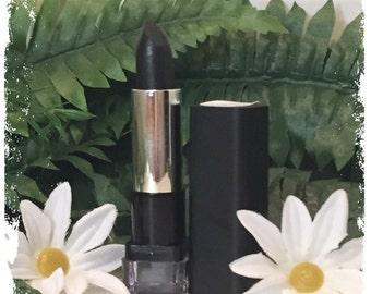 Clearance Sale 50% Off, Code: NATURESEN01, Vegan Friendly Natural Black Lipstick
