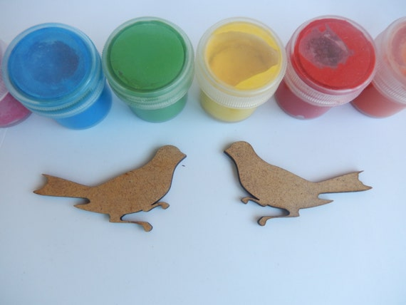 Bird wooden cutouts for craft projects wooden bird shapes for Craft supplies wooden shapes