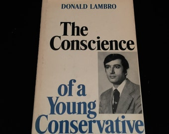 "Book ""The Conscience of a Young Conservative"" By Donald Lambro    VG1713"