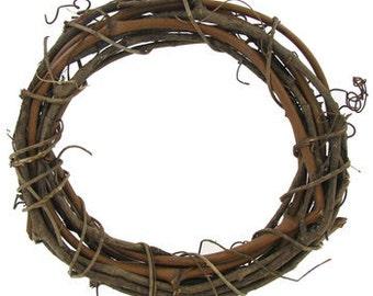 Natural Grapevine Wreath, Craft Supply Wreath, Grapevine Supply, Plain Grapevine, Ready to Decorate Grapevine Wreath