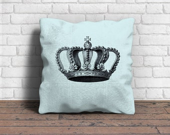 Digital Download, Vintage Crown, Image for Iron-on Transfer, Image Transfer, Pillows, Napkins, Bags, Paper crafts, etc.