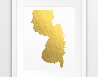 Can you print a New Jersey state map?