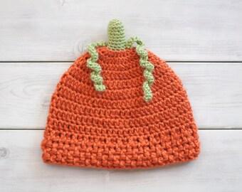 Pumpkin Crochet Hat