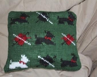 Scottie cushion
