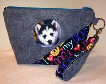 Puppy Love Medium Cosmetic Bag