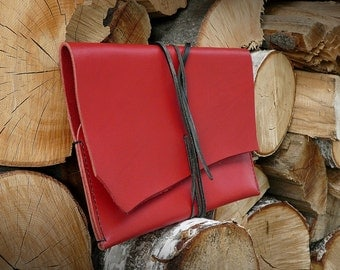 """Handmade leather case for Ipad Air, Galaxy Tab 3 and other 10"""""""