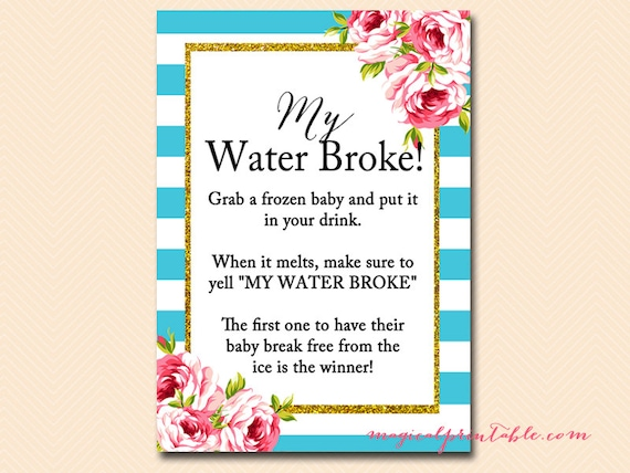 my water broke melt the frozen baby ice cube game instant download