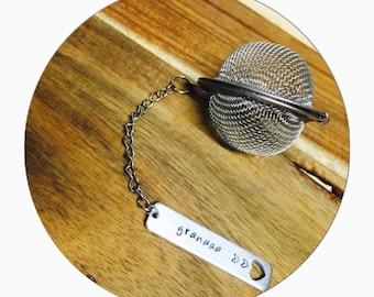 Tea Infuser | Custom Tea Infuser | Gift for Her | Stainless Steel Infuser | Personalised Infuser | Mesh Tea Ball