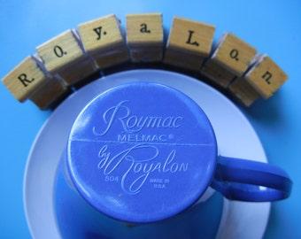 Roymac Melmac by Royalon ~ Dark Blue Assorted Dishes ~ 43 pieces