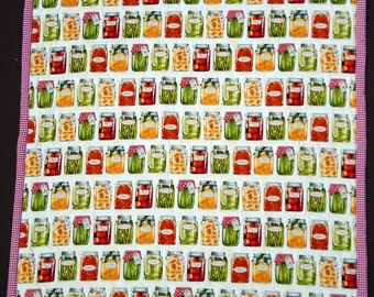 Canned fruits and vegetables quilt