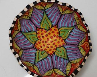 Small Pottery Bowl