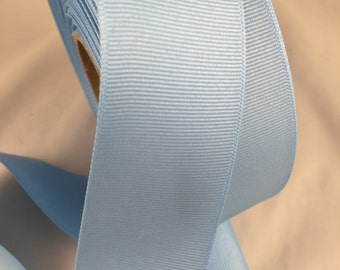 "1 1/2"" Light Blue Ribbon By the Yard 50 cents per yard"