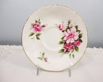 "Royal Albert ""Milton"" Somnet Series Bone China Saucer"