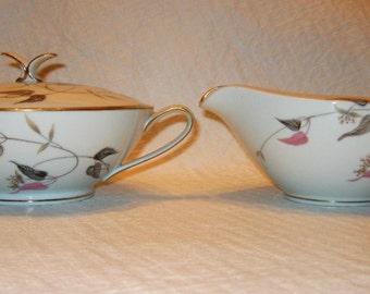 Vintage Noritake Arden Sugar n Creamer Bowl