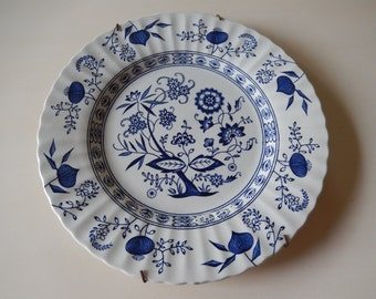 ENGLAND BLUE NORDIC Plate Wall Hanging