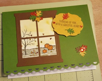 Thanksgiving or fall card