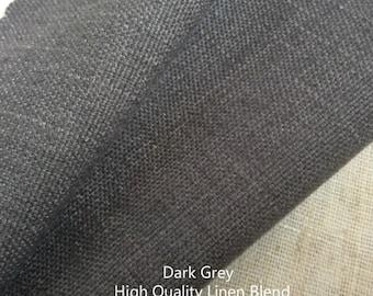 Dark Grey Curtains, window curtain panels, linen curtains, custom curtains, custom drapes, dark grey curtain panels