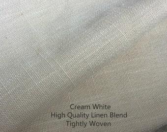Cream Curtains, Cream Curtain Panels, window curtain panels, linen curtains, custom curtains, custom drapes