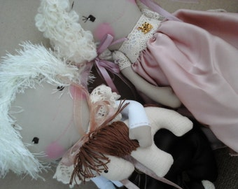 Fabric Doll Couple Princes.gift