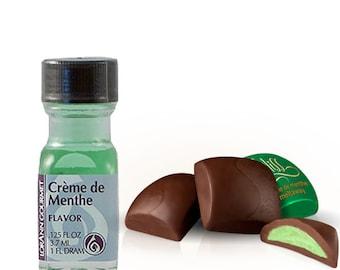 Creme de Menthe - Lorann 1 dram *FREE SHIPPING*