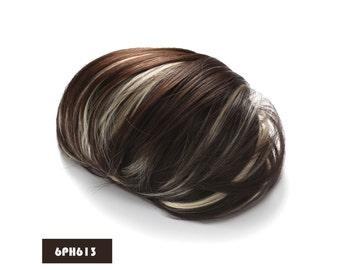Synthetic Big Hair Bun Ponytail Extension Chignon Hair Piece Wig (6PH613)