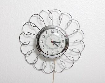 United Clock Corp. Electric Clock