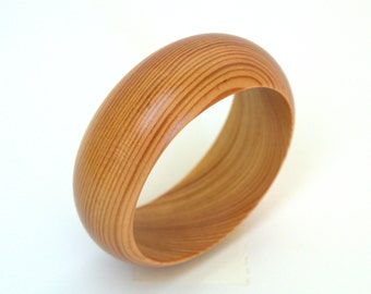 Wood bracelet, wooden bracelet, wood bangle, wooden bangle,  wooden jewelry for women made out of pine wood
