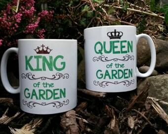Gardeners gift mug set