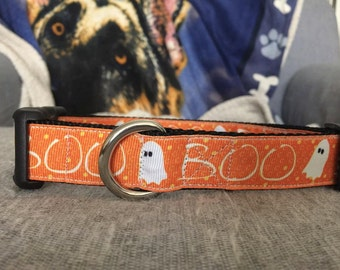 Boo Ghosts Dog Collar and/or Leash